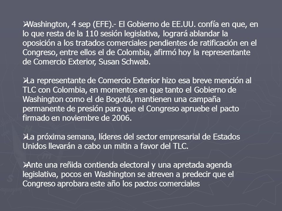 Washington, 4 sep (EFE). - El Gobierno de EE. UU