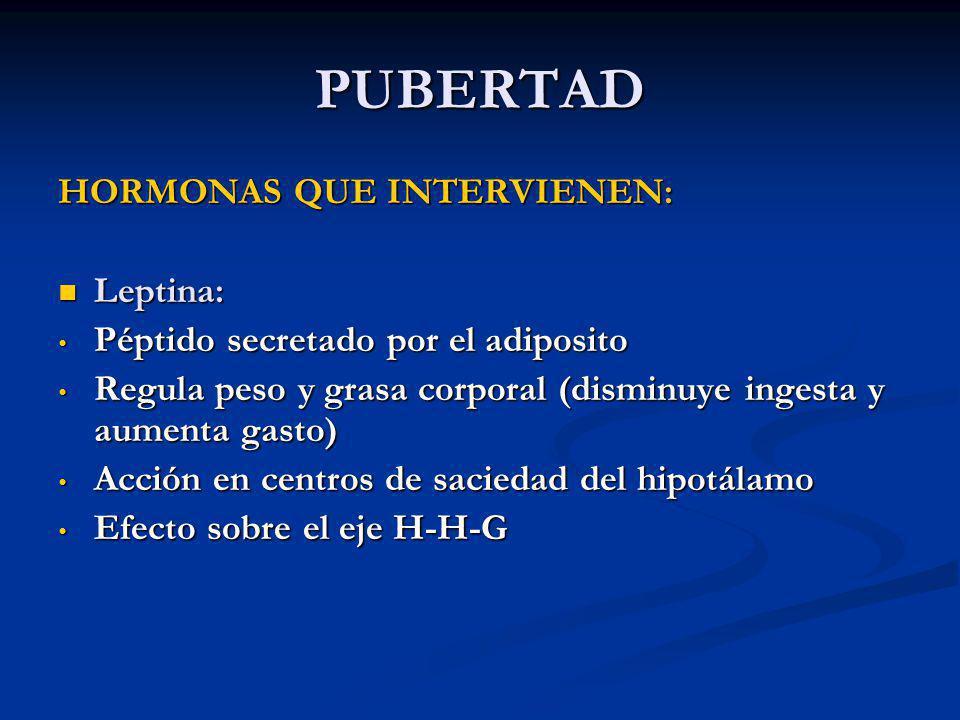CRECIMIENTO Y DESARROLLO FISICO DEL ADOLESCENTE - ppt