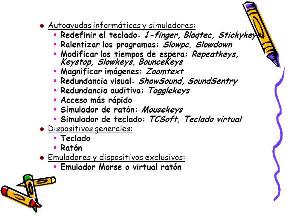 Autoayudas informáticas y simuladores: