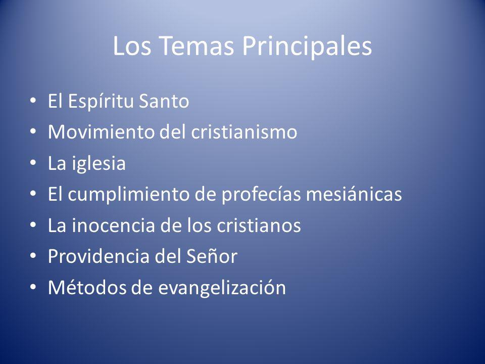 Los Temas Principales El Espíritu Santo Movimiento del cristianismo