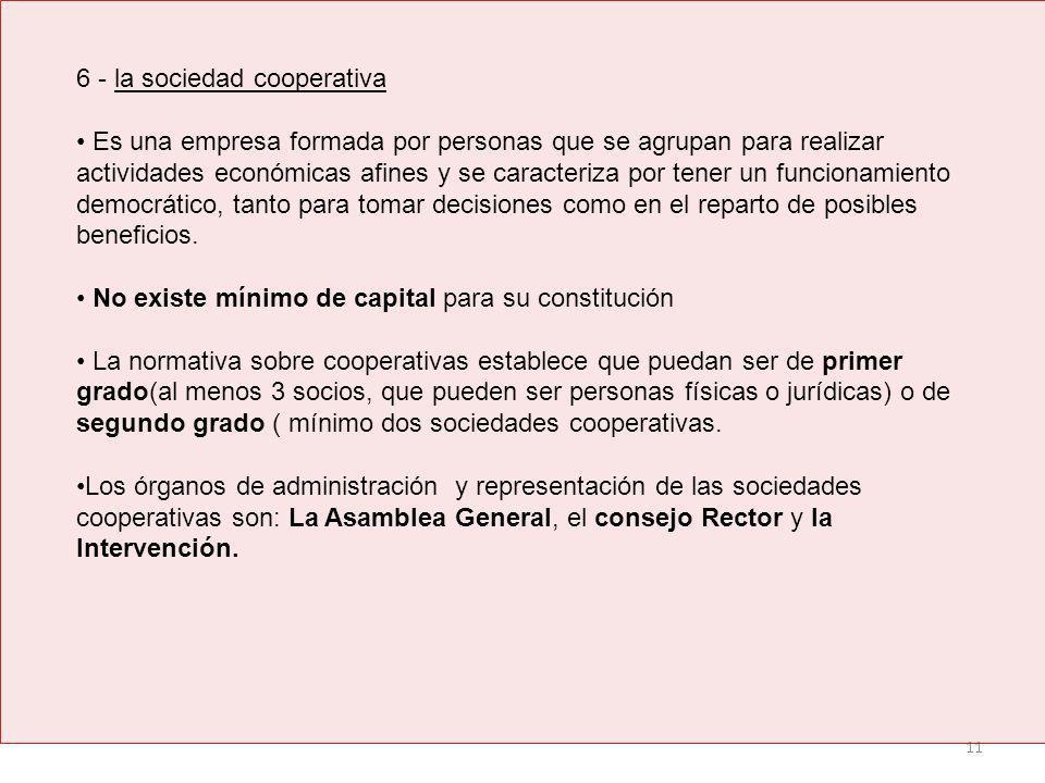 6 - la sociedad cooperativa