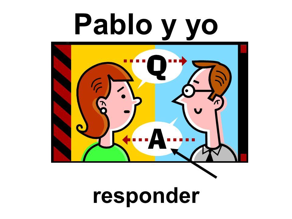 Pablo y yo responder