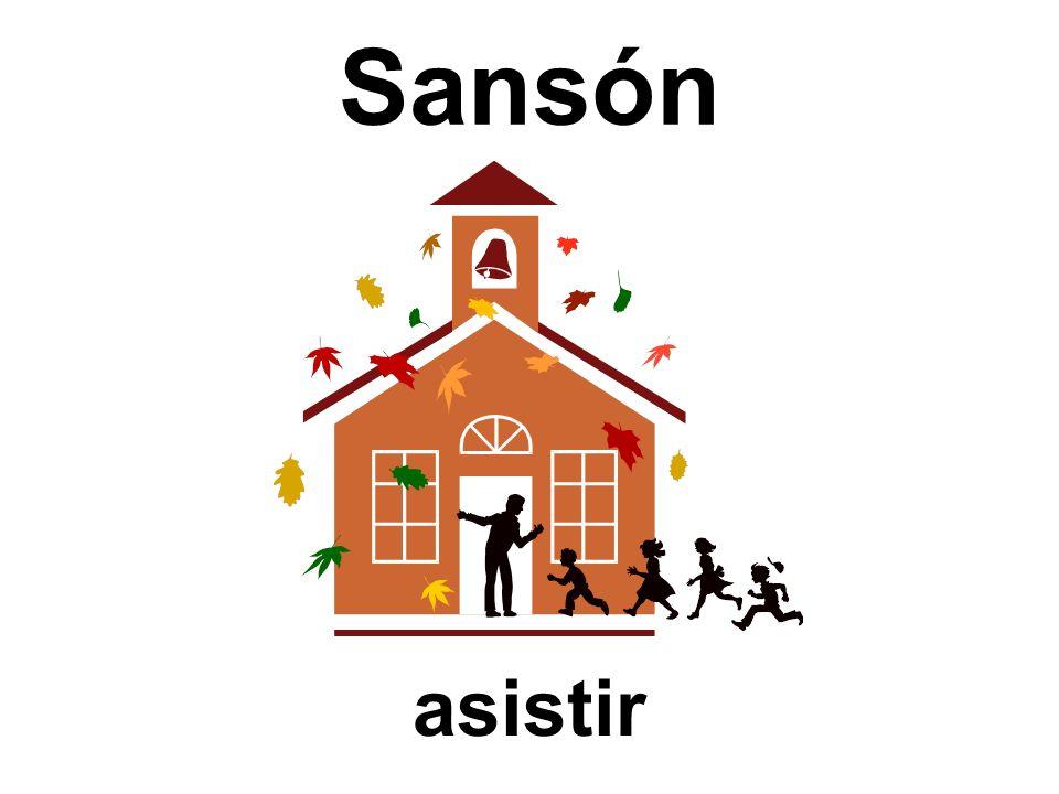 Sansón asistir