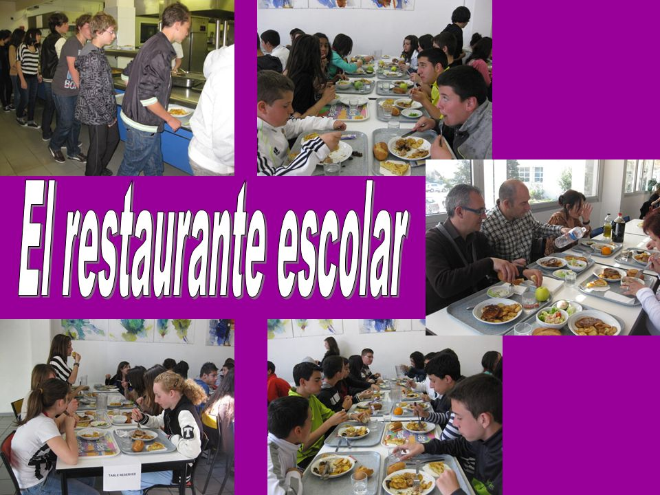 El restaurante escolar