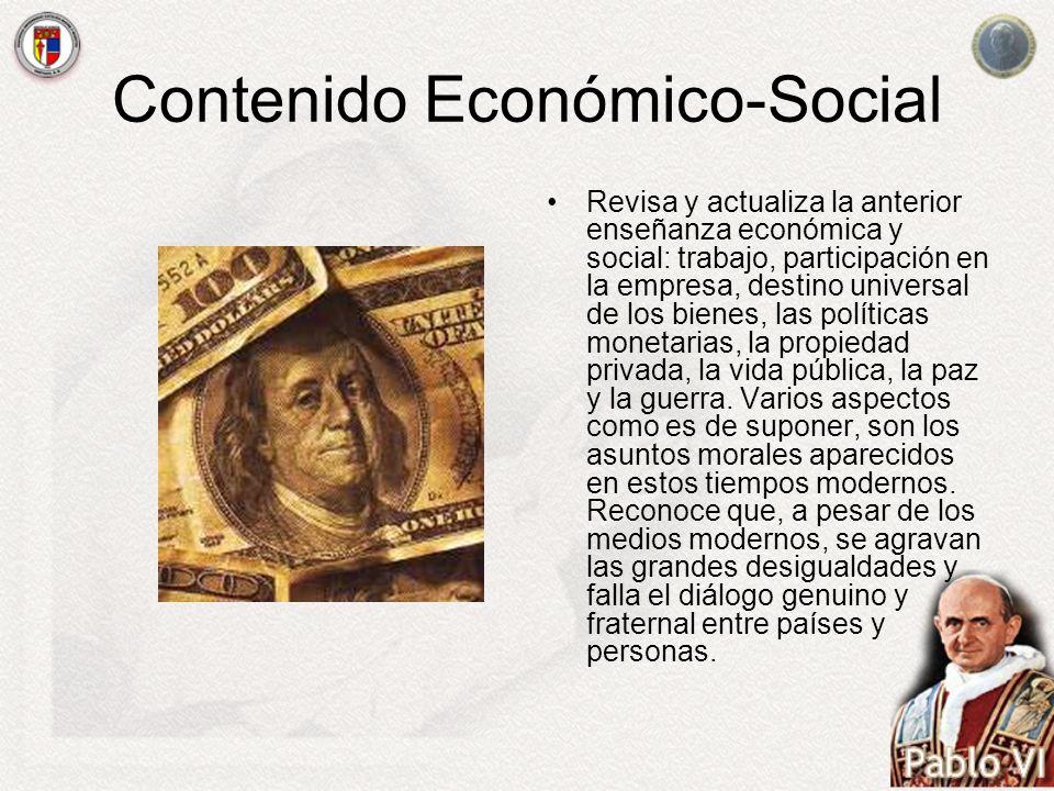 Contenido Económico-Social