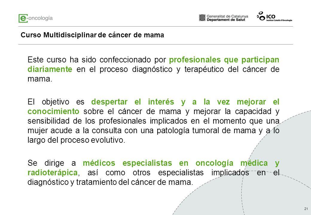 Curso Multidisciplinar de cáncer de mama