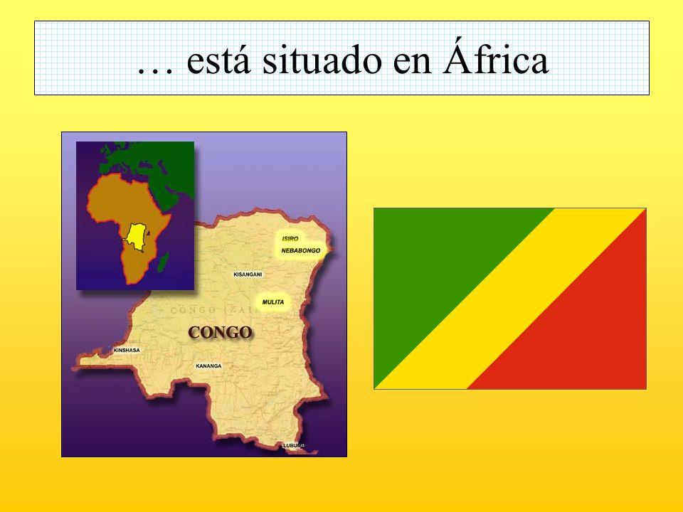 … está situado en África
