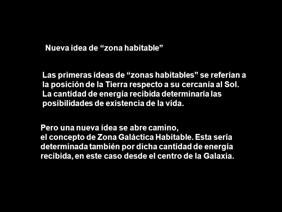 Nueva idea de zona habitable