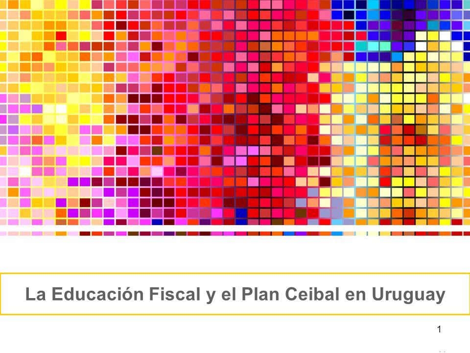 La Educación Fiscal y el Plan Ceibal en Uruguay
