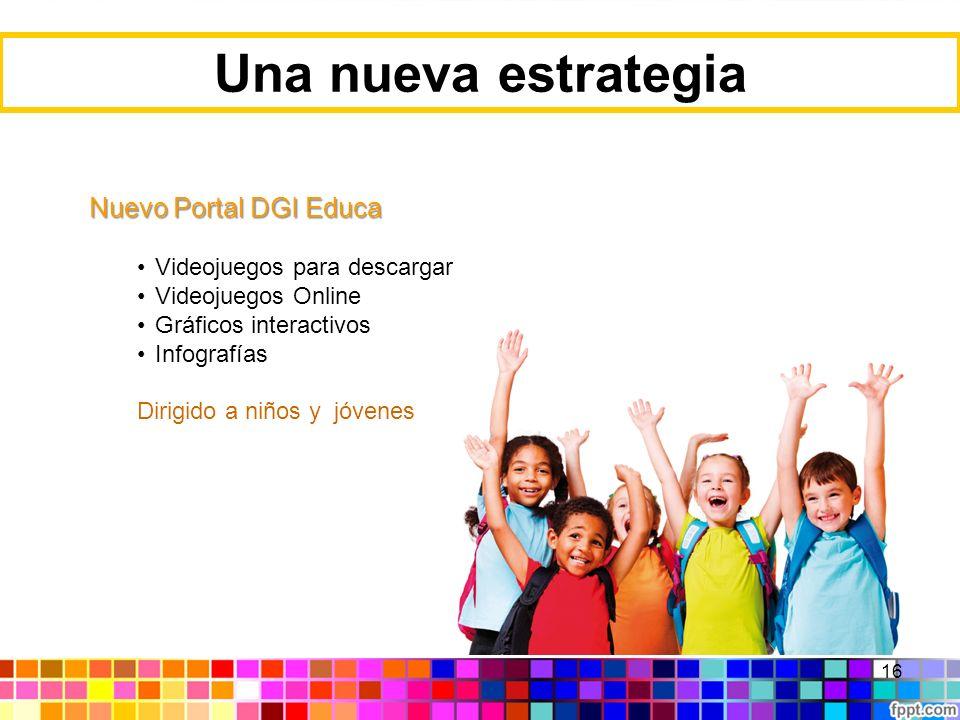Una nueva estrategia Nuevo Portal DGI Educa Videojuegos para descargar