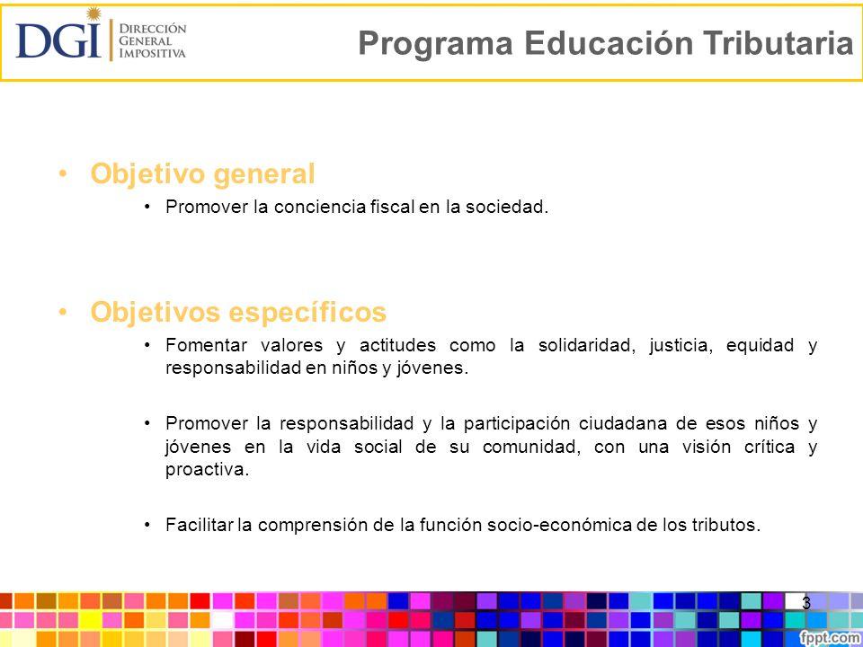 Programa Educación Tributaria