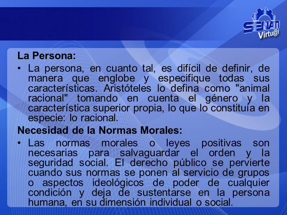 La Persona: