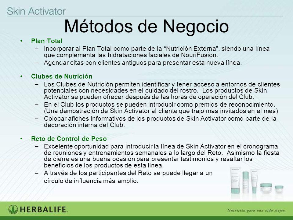 Métodos de Negocio Plan Total