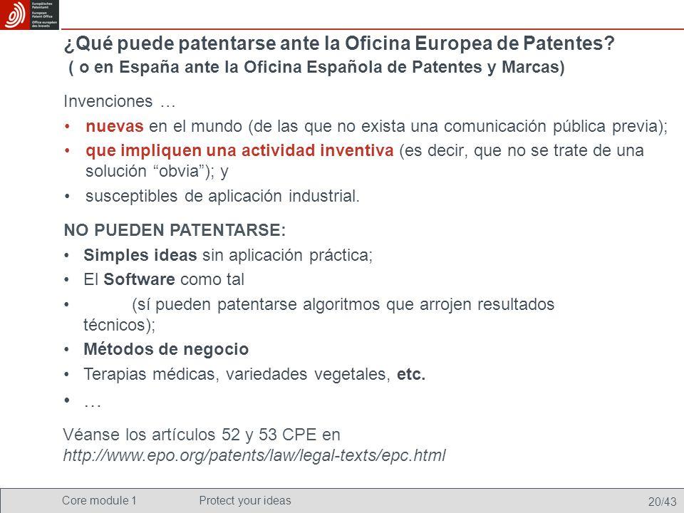 Proteja sus ideas una introducci n a las patentes dirigida a estudiantes de ciencias ingenier a - Oficina europea de patentes y marcas alicante ...