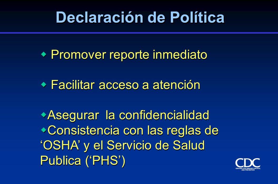 Declaración de Política