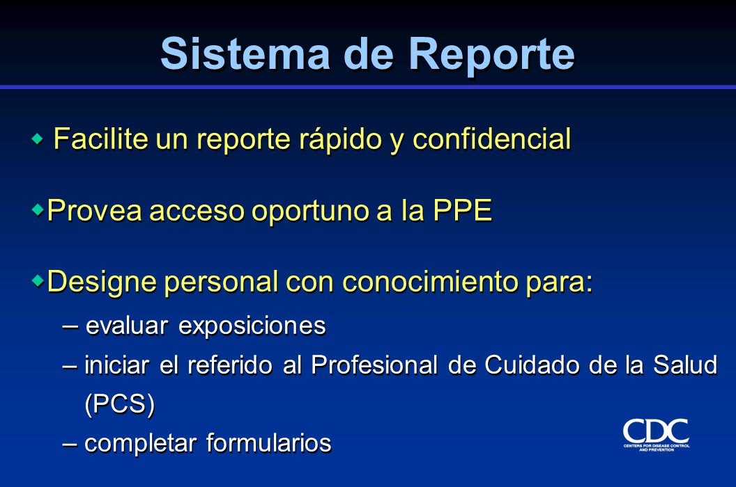 Sistema de Reporte Provea acceso oportuno a la PPE