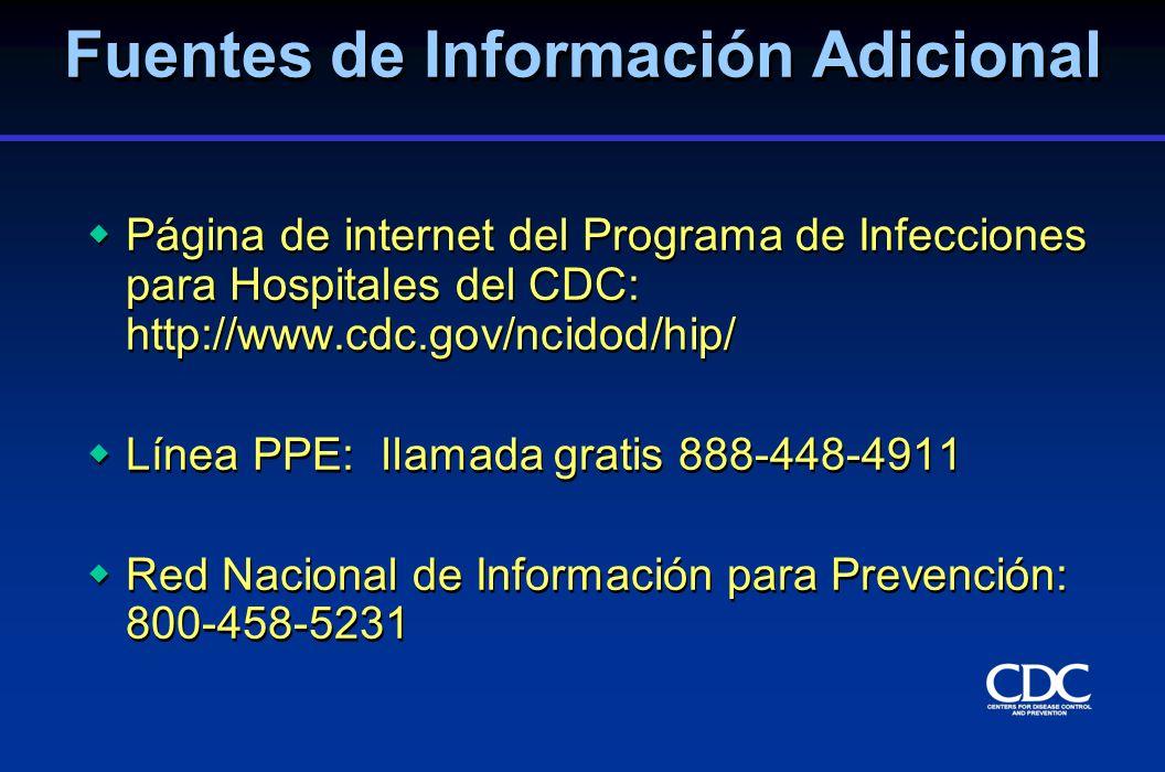 Fuentes de Información Adicional