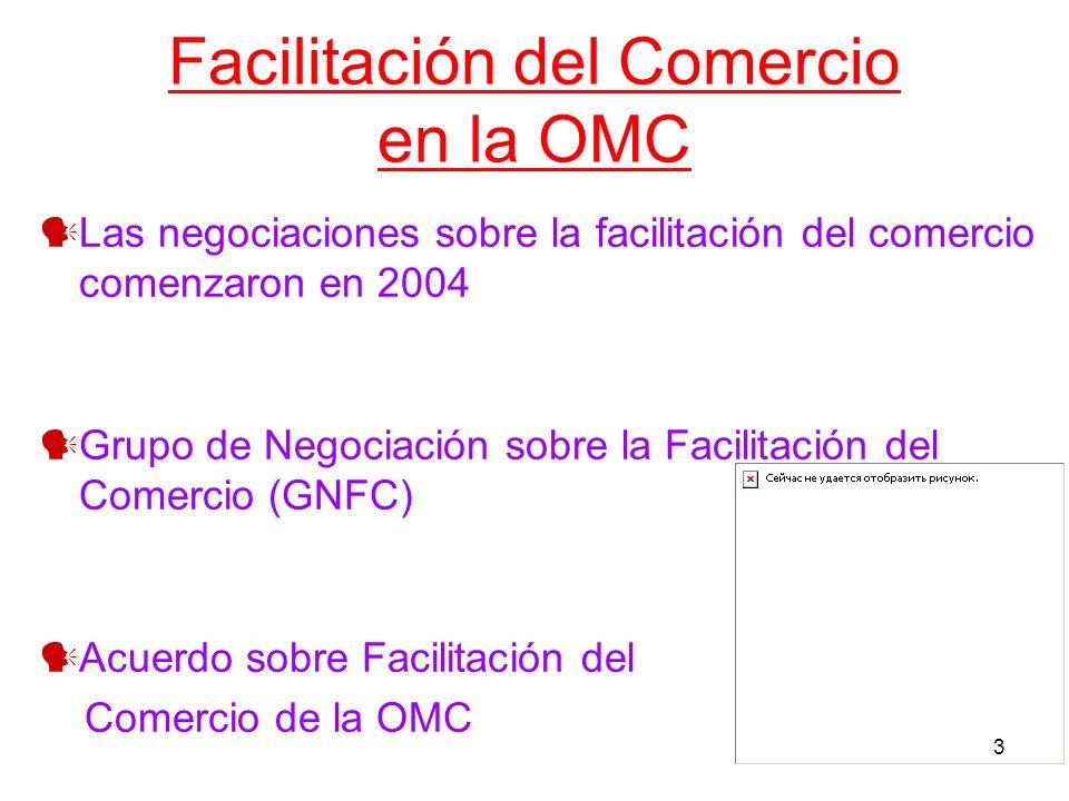 Facilitación del Comercio en la OMC