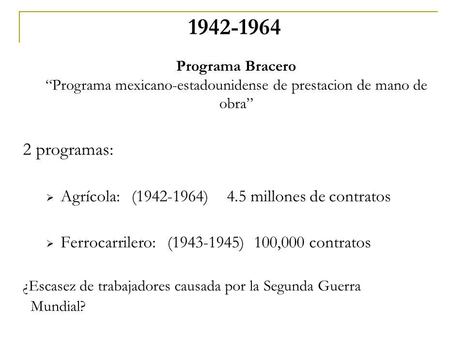 Programa mexicano-estadounidense de prestacion de mano de obra