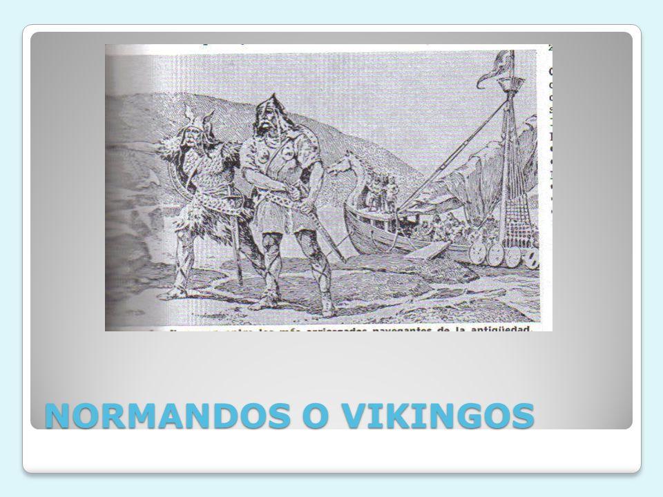 NORMANDOS O VIKINGOS