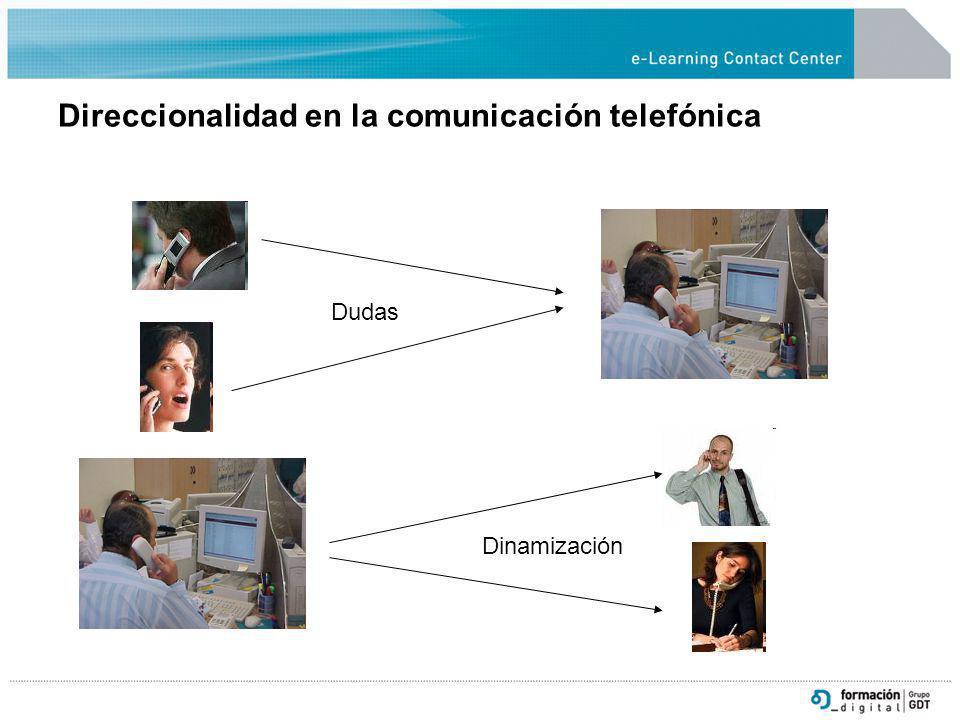Direccionalidad en la comunicación telefónica