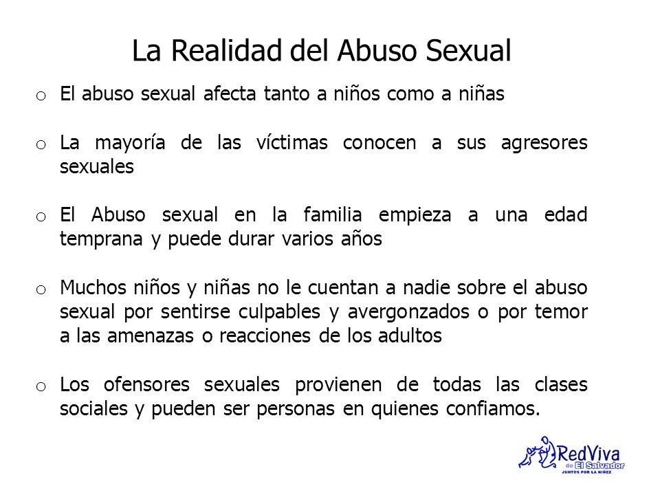 La Realidad del Abuso Sexual