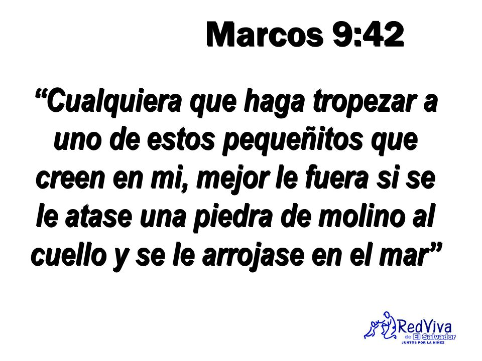 Marcos 9:42
