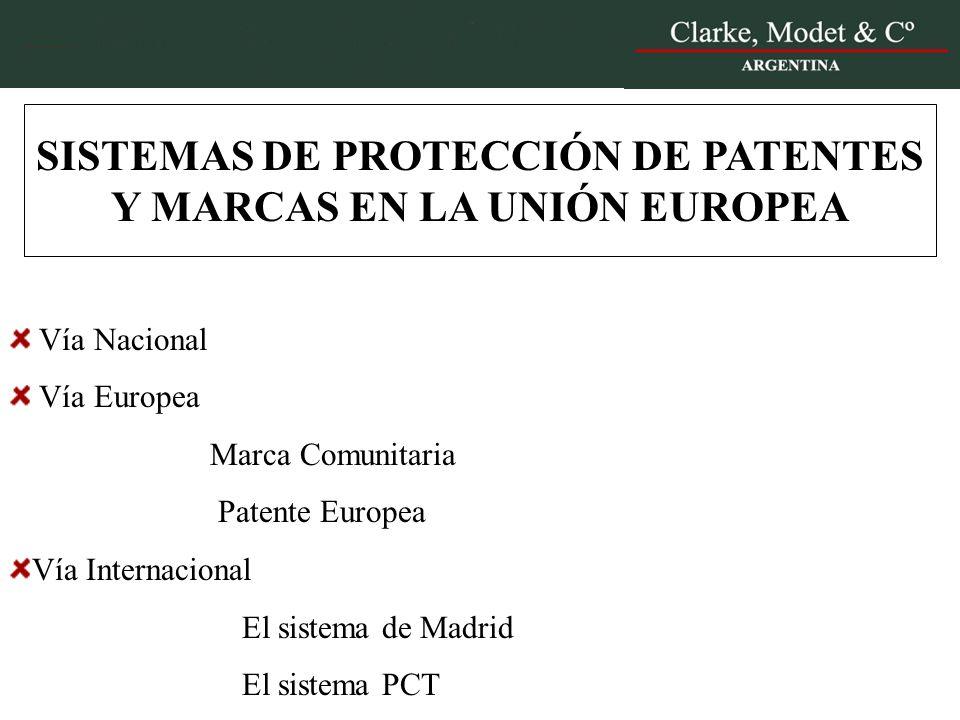 Sistemas de protecci n de patentes y marcas en la uni n for Oficina de patentes y marcas europea