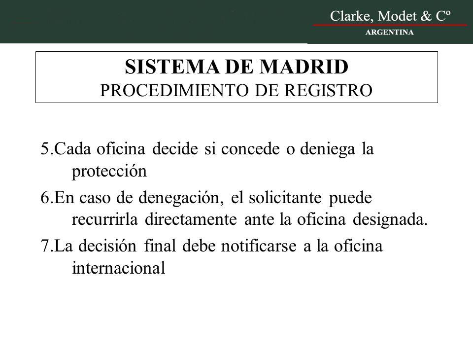Sistemas de protecci n de patentes y marcas en la uni n for Oficina registro madrid