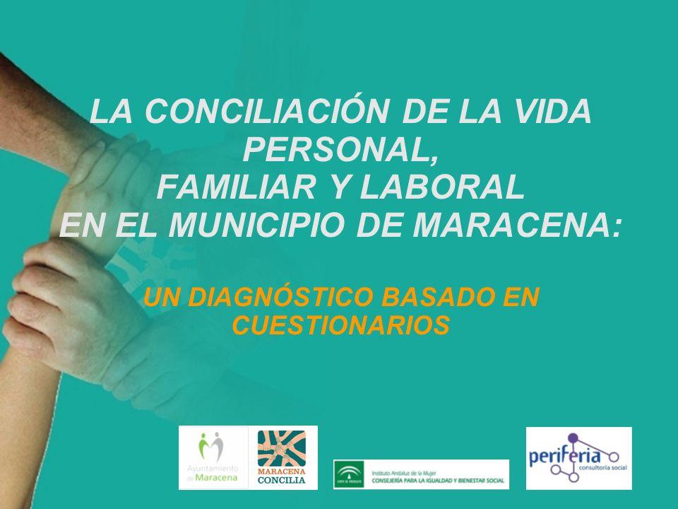 LA CONCILIACIÓN DE LA VIDA PERSONAL, FAMILIAR Y LABORAL EN EL MUNICIPIO DE MARACENA: UN DIAGNÓSTICO BASADO EN CUESTIONARIOS