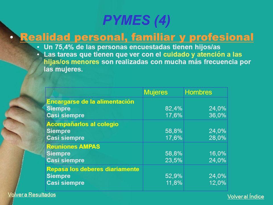 PYMES (4) Realidad personal, familiar y profesional