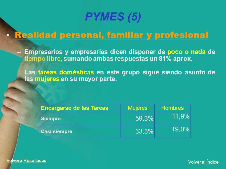 PYMES (5) Realidad personal, familiar y profesional