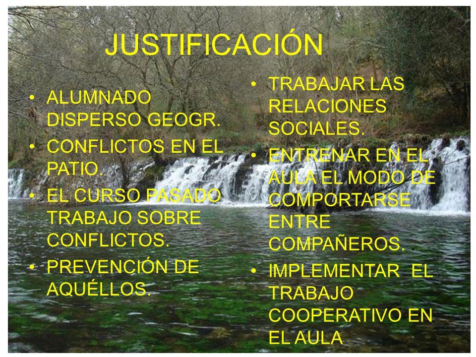 JUSTIFICACIÓN TRABAJAR LAS RELACIONES SOCIALES.