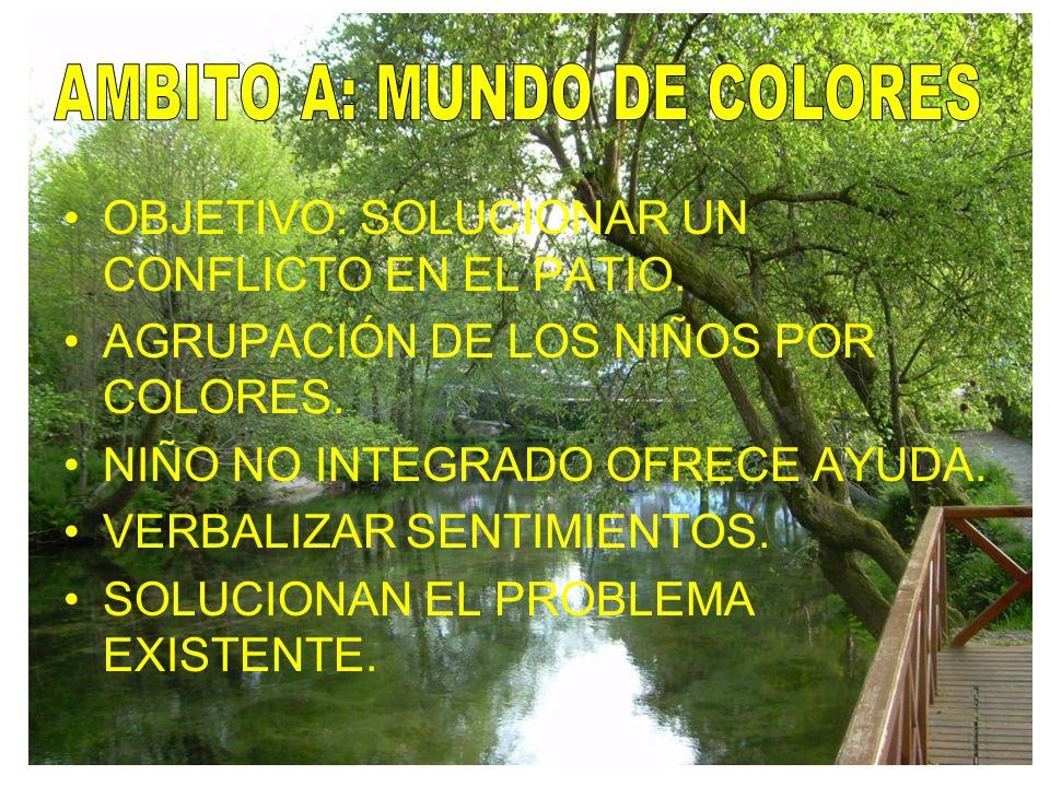 AMBITO A: MUNDO DE COLORES