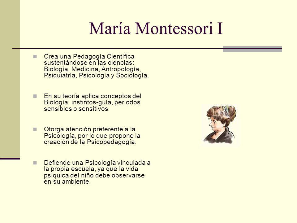 María Montessori I
