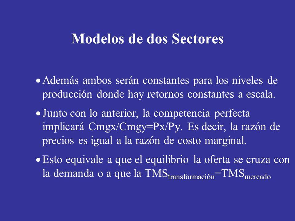 Modelos de dos Sectores