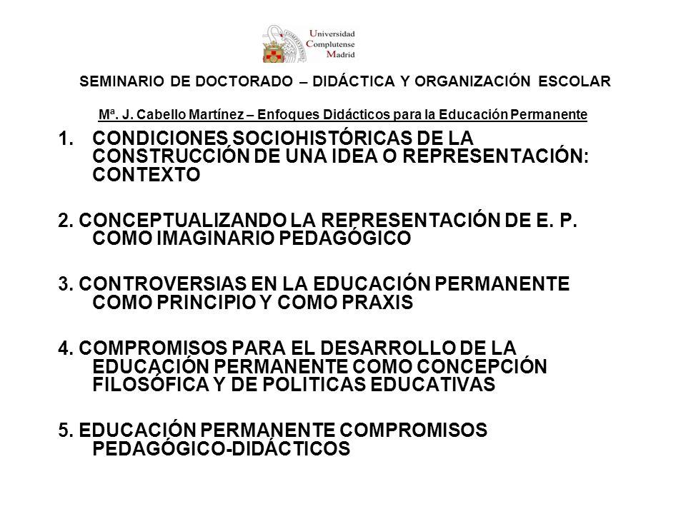 5. EDUCACIÓN PERMANENTE COMPROMISOS PEDAGÓGICO-DIDÁCTICOS