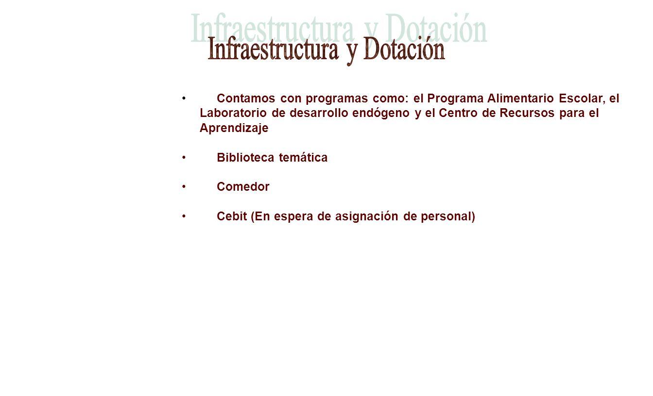 Infraestructura y Dotación