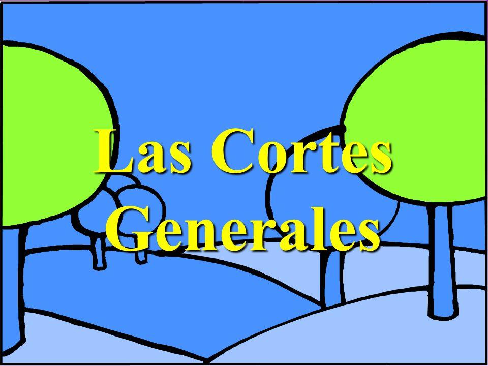 Las Cortes Generales