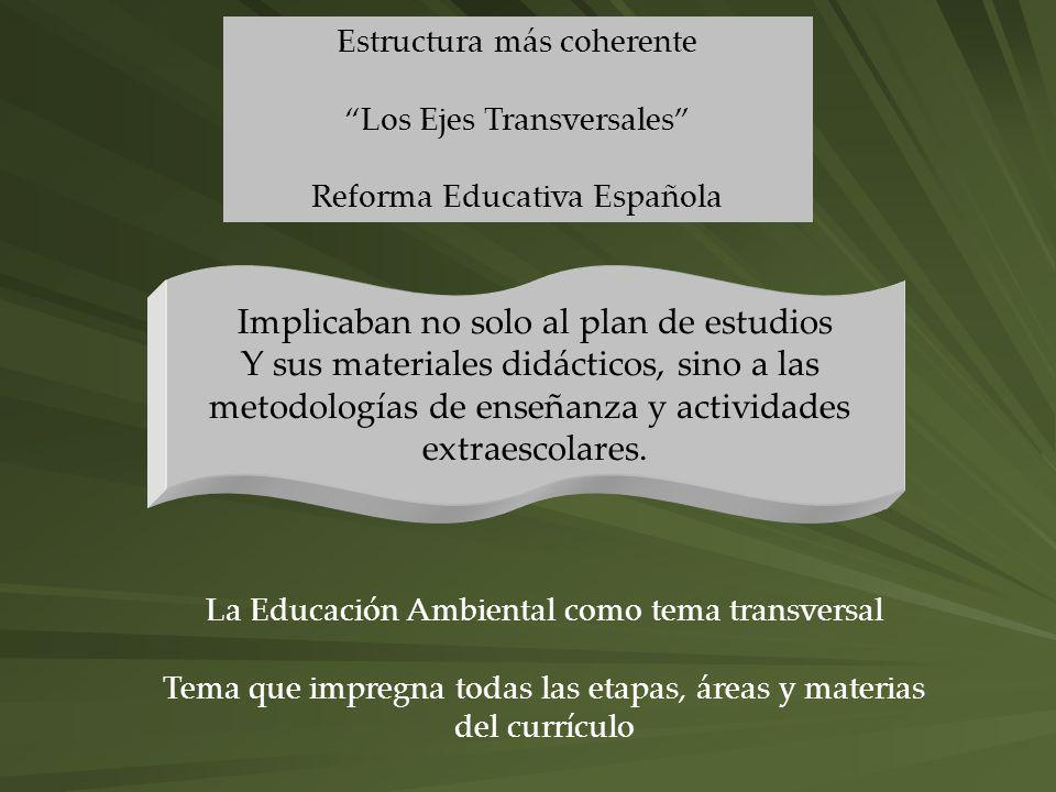 Implicaban no solo al plan de estudios