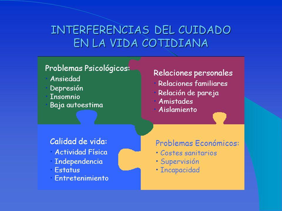 INTERFERENCIAS DEL CUIDADO EN LA VIDA COTIDIANA