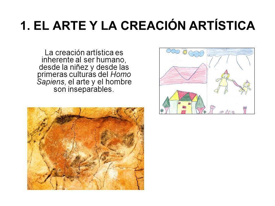 1. EL ARTE Y LA CREACIÓN ARTÍSTICA