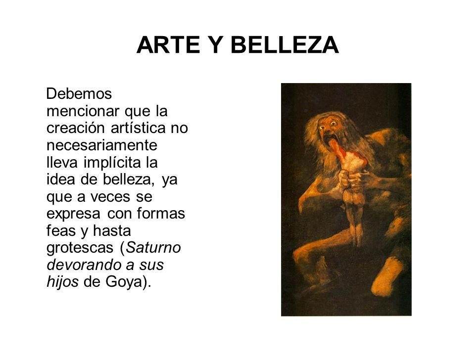 ARTE Y BELLEZA