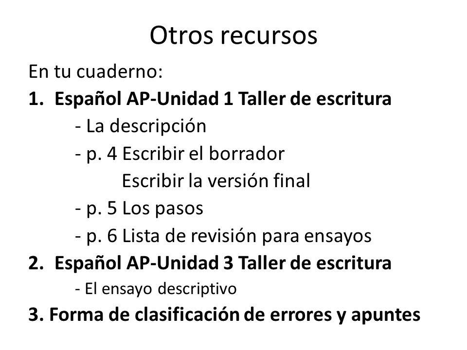 como escribir un essay en espanol Aprende a escribir un opinion essay (artículo de opinión) en inglés  como se menciona en el  es una extensión de chrome muy útil si tienes que escribir .