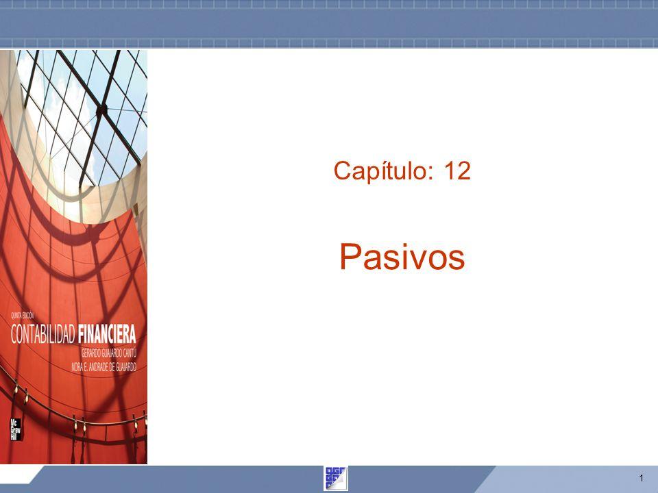 Capítulo: 12 Pasivos