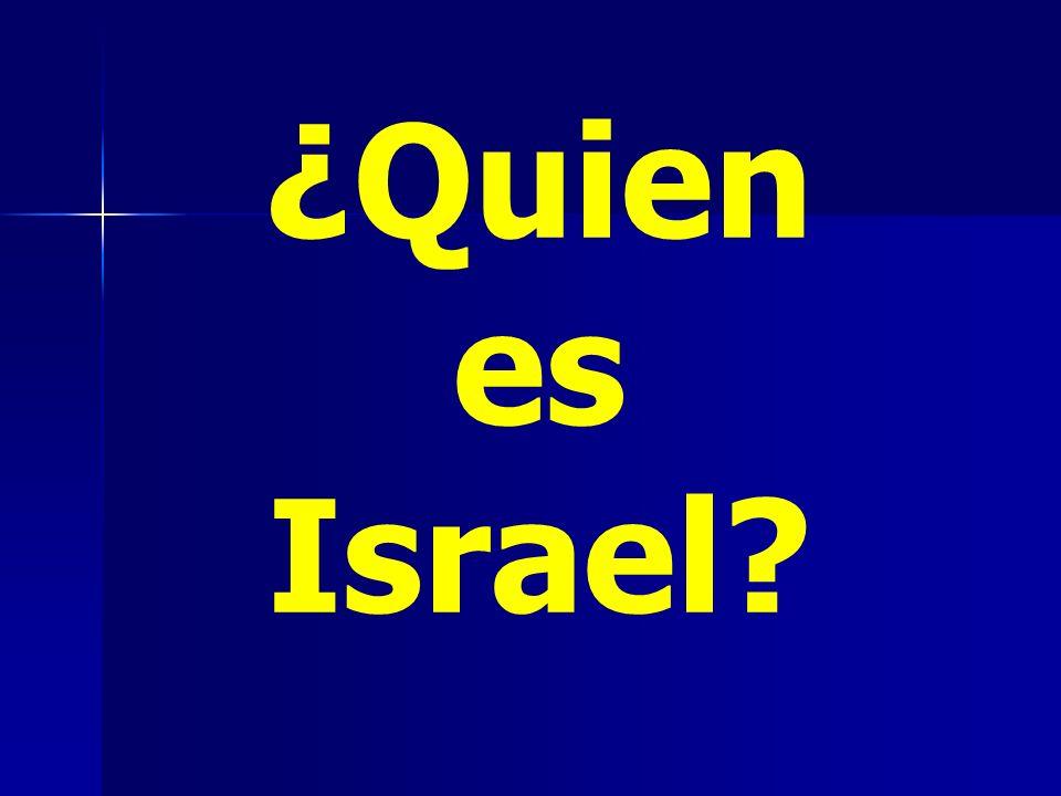 ¿Quien es Israel