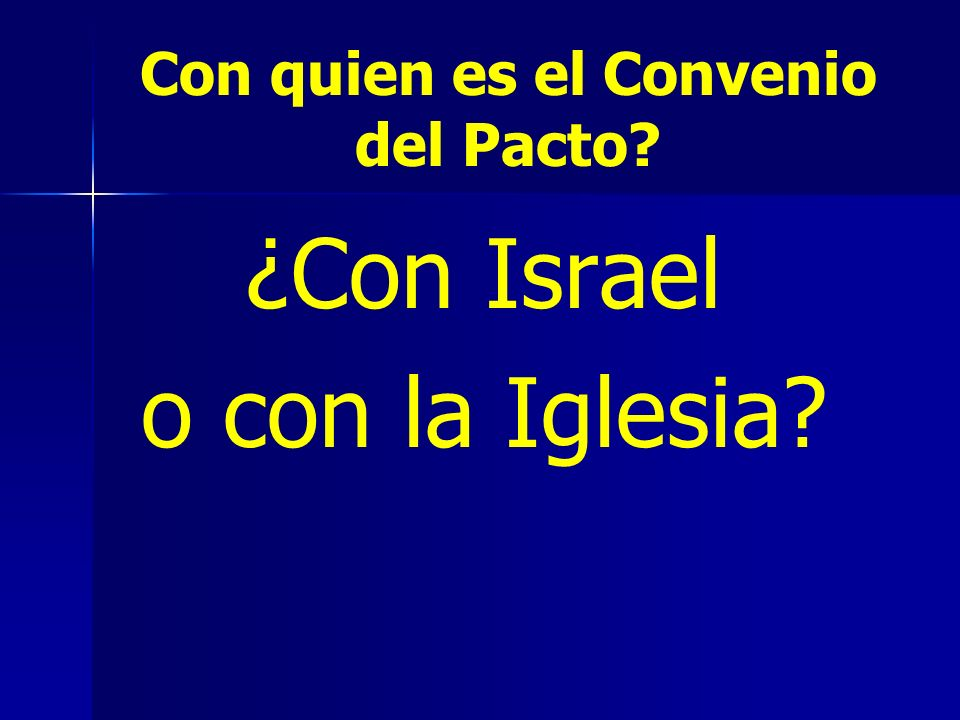 Con quien es el Convenio del Pacto