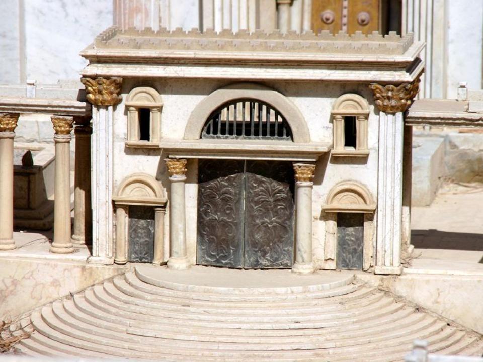 Seg n la maqueta de la jerusal n que conoci jes s ppt for Puerta que abre para los dos lados