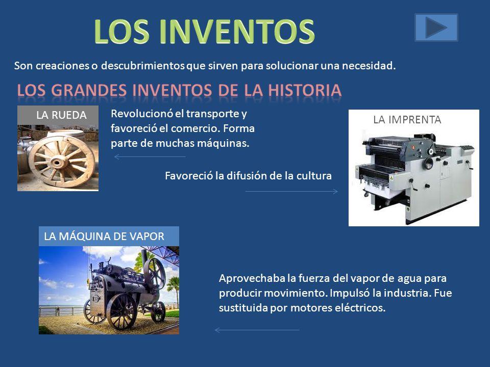 Los grandes inventos de la historia