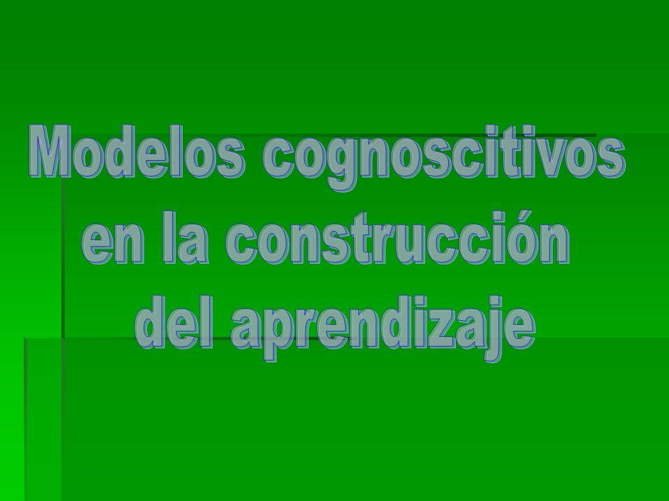 Modelos cognoscitivos